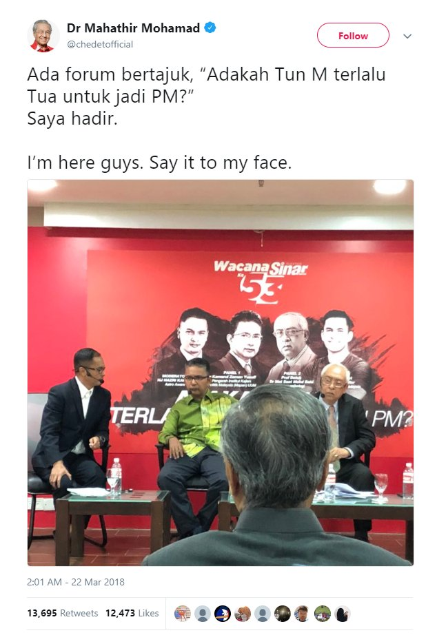 "Lecturer Who ""Wet Himself"" During Mahathir Forum Resigns from Uni - WORLD OF BUZZ 3"