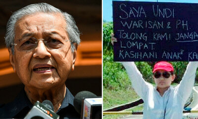 Mahathir: Election in Sabah will not be Recognised If Corruption is Involved - WORLD OF BUZZ 1