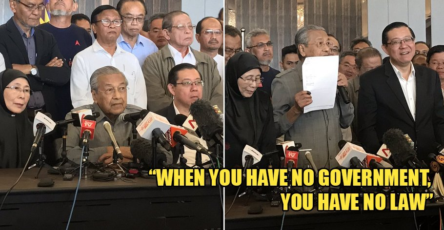 Mahathir: I Have Majority Support from MPs to be Next PM - WORLD OF BUZZ 5