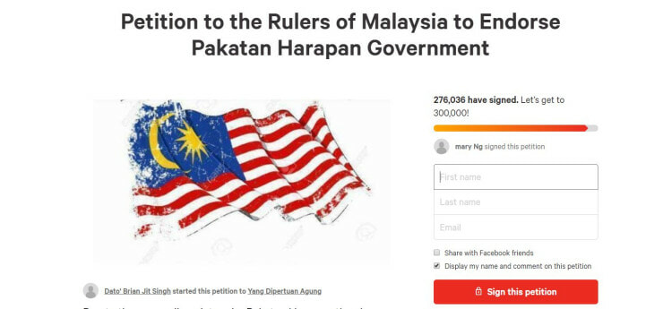 Malaysians Are Signing This Petition for PH, Gains 30000 Signatures in ONE Hour! - WORLD OF BUZZ
