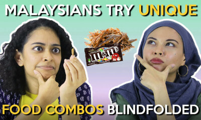 Malaysians Try Unique Food Combos Blindfolded - WORLD OF BUZZ