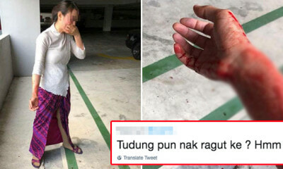 Malindo Air Crew Injured at Parking Lot Robbery, Salty Netizens Focus on Her Uniform Instead - WORLD OF BUZZ 1