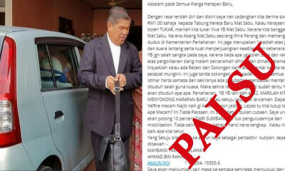 Mat Sabu Does NOT Want You to Donate Money to Get Him A New Car - WORLD OF BUZZ