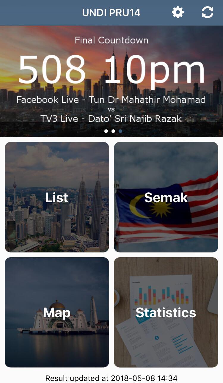 M'sians Can Easily Keep Track of Live GE14 Results on Polling Day Via This App - WORLD OF BUZZ