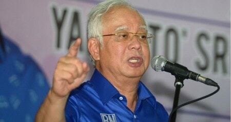 Najib Brings Softer Side In Hopes of Winning the Hearts of Malaysians - WORLD OF BUZZ