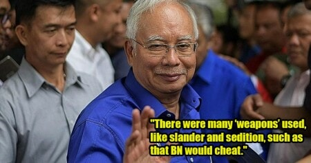 Najib Finally Speaks Up After 24-Hour Silence, Denies Any Cheating in GE14 - WORLD OF BUZZ