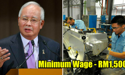 Najib: Minimum Wage to be Raised to RM1,500 and Fathers to Get 3 Days of Paternity Leave If BN Wins - WORLD OF BUZZ