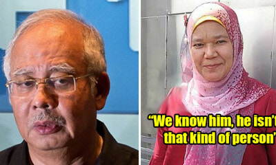 Najib Supporter Complains About Unfair Treatment And Demands Justice For Najib - WORLD OF BUZZ