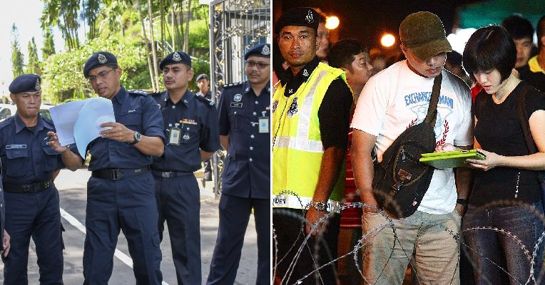 PDRM Cautions M'sians to Stay Home After Voting to Wait for GE14 Results - WORLD OF BUZZ 3