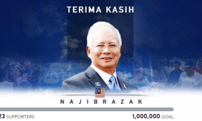Petition Wants 1 Million People to Thank Najib, Collects Less Than 7,000 So Far - WORLD OF BUZZ 1