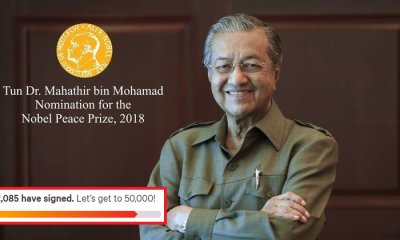 Petitions for Mahathir to Receive Nobel Peace Prize - WORLD OF BUZZ 4