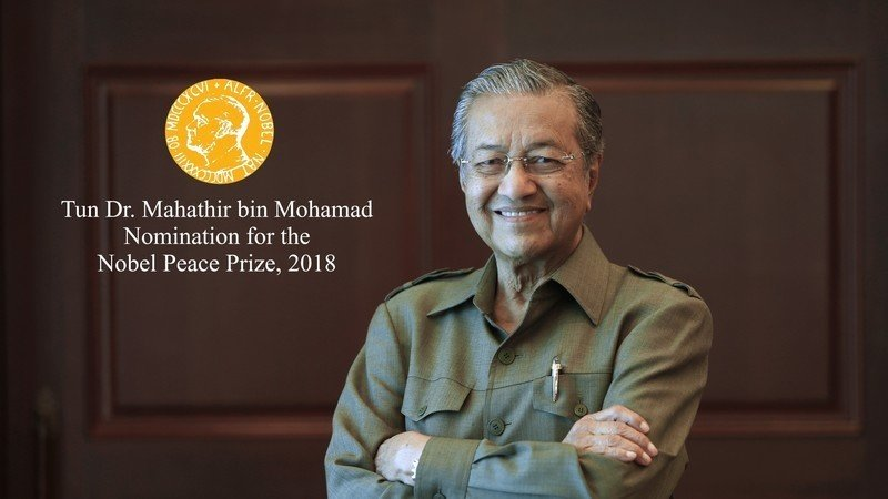Petitions for Mahathir to Receive Nobel Peace Prize - WORLD OF BUZZ