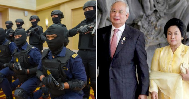 Police Raid KL Apartment Linked to Najib In Search of Sensitive Govt Documents - WORLD OF BUZZ
