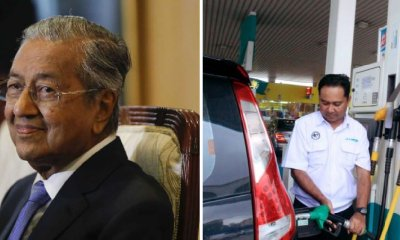 Present Petrol Price for RM2.20/L of RON95 is Here To Stay, Mahathir Confirms - WORLD OF BUZZ 3