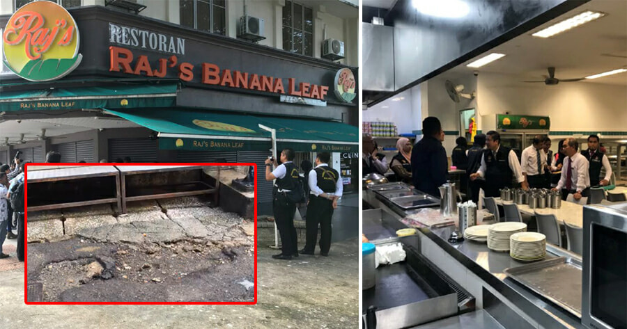 Raj's Banana Leaf Has Unvaccinated Staff, No Food-Handling Training & Pests - WORLD OF BUZZ