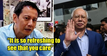 Lawyer Sarcastically Thanks Najib For 'Caring' For the Nation - WORLD OF BUZZ