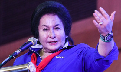 Rosmah Tells Malaysian Voters to Quit Being a Cry Baby This GE14 - WORLD OF BUZZ