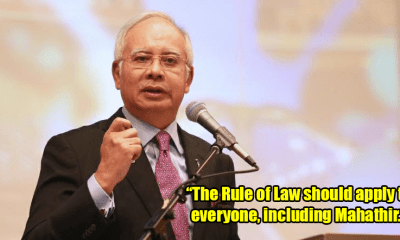 Rule of Law Must Apply to Everyone, Says Najib - WORLD OF BUZZ 5
