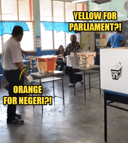 SPR is Mixing Up 'Parliament' and 'State' Boxes All Over the Country - WORLD OF BUZZ