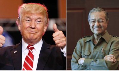 Trump Commends Dr Mahathir And Looks Forward To Working Together - WORLD OF BUZZ 6