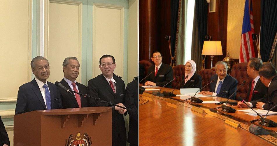 Tun M: 10% Salary Cuts For All Pakatan Harapan Ministers - WORLD OF BUZZ