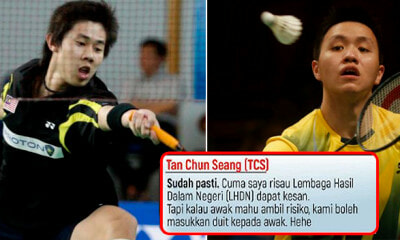 Two M'sian Badminton Players Exposed for Rigging Game, Banned for Up to 20 Years - WORLD OF BUZZ