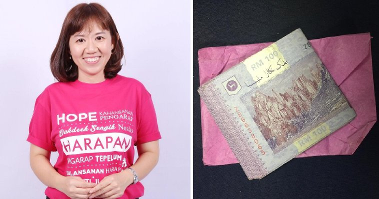 Uncle Heartwarmingly Hands RM1,200 to DAP MP for Tabung Harapan Malaysia - WORLD OF BUZZ