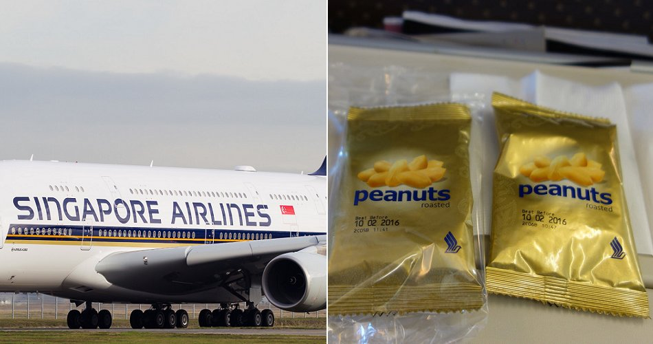 You Can No Longer Get Peanuts on SIA Flights Starting April 2018, Here's Why - WORLD OF BUZZ