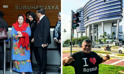 Cartoonist Zunar Waits Outside MACC HQ As Rosmah Arrives For Questioning - WORLD OF BUZZ 1