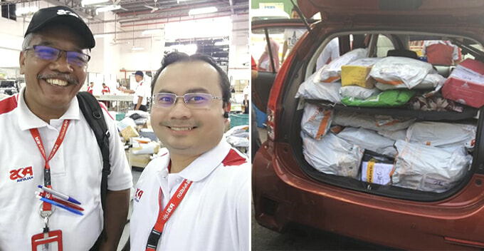 Don't Be Alarmed If Strangers Show Up With Your Pos Laju Parcel, Here's Why - WORLD OF BUZZ