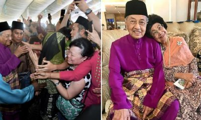 Dr. Mahathir Touched By Huge Turnout at PH Raya Open House - WORLD OF BUZZ 11