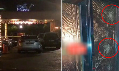 Famous Bukit Bintang Night Club Gets Shot with 25 Bullets, Glass Doors Shattered - WORLD OF BUZZ 1