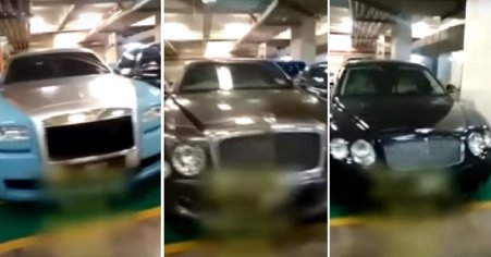 Fleet of Hidden Luxury Vehicles Allegedly Belonging to Najib and Family Discovered in Parking Lot - WORLD OF BUZZ 5