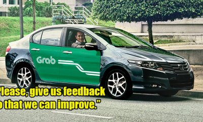 Grab Driver Asks Passengers For Feedback If Giving Low Rating So That They Can Improve Services - World Of Buzz 4