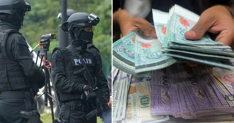 High-ranking Cops Caught For Possession of RM1mil Ringgit in Cash and 4 Luxury Cars - WORLD OF BUZZ