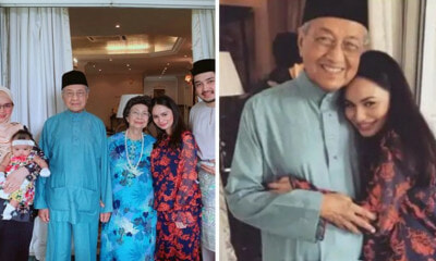 Local Actress Apologises After Netizens Criticised Her For Hugging Tun M in Viral Photo - WORLD OF BUZZ