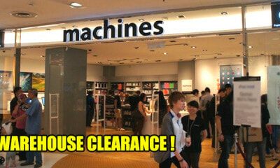 Machines' Warehouse Clearance Sale is Back From 28 to 30 June, Here are the Details - WORLD OF BUZZ
