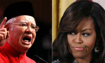 Najib Claims Michelle Obama Also Received Millions as Gifts, But It's Not True - WORLD OF BUZZ