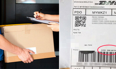 M'sian Almost Got Scammed of RM280 by a Parcel Labelled with 'Cash On Delivery' - WORLD OF BUZZ