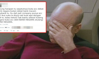 M'sian Gets Roasted After Tweeting That Tabung Harapan Should Have Opened a Bank Negara Account - WORLD OF BUZZ 6