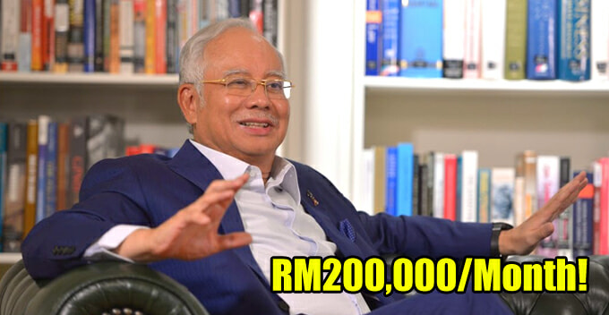 Najib's Advisor Shockingly Exposed of Earning RM200,000 Per Month On Top of Benefits! - WORLD OF BUZZ
