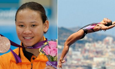Pandelela Becomes Malaysia's First FINA Diving World Cup Medalist - WORLD OF BUZZ 4