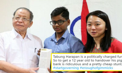People Have Been Criticising The Government For Accepting A 12yo Boy's Tabung Harapan Donation - WORLD OF BUZZ 2