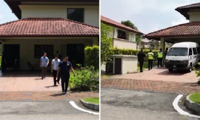 Police Just Raided Najib's Alleged 'Safe House' in Precinct 10, Putrajaya - WORLD OF BUZZ 4