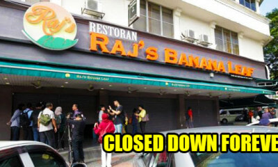 Raj's Banana Leaf Bangsar Will Close Down For Good, Licence Revoked By DBKL - WORLD OF BUZZ