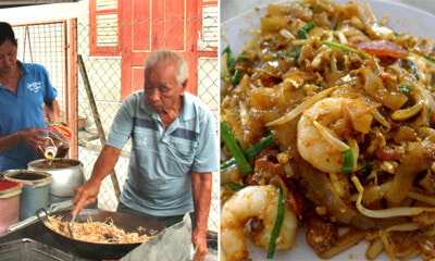 Siam Road Char Kuey Teow Uncle Has Retired, Son Takes Over the Business - WORLD OF BUZZ