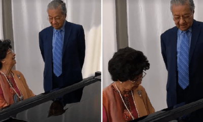 Sweet Video Shows Siti Hasmah Playing Dr M's Fave Song While He Hums Along - WORLD OF BUZZ 5