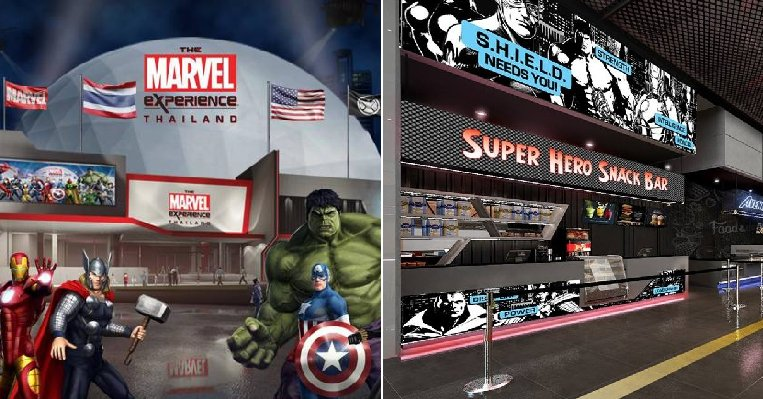 The Exciting Marvel Experience Theme Park is Opening in Bangkok On June 29! - WORLD OF BUZZ 8