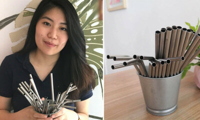 This Cool Cafe in Penang is Already Phasing Out Plastic Straws in Favour of Metal Ones - WORLD OF BUZZ