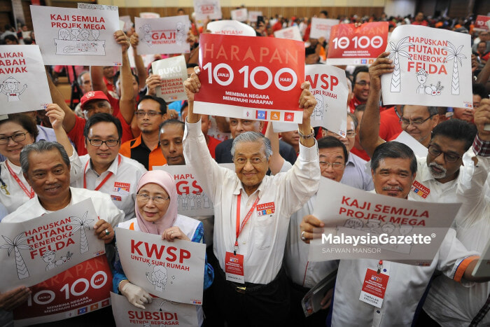 This Website Is Tracking All Of Pakatan Harapan's Campaign Promises - WORLD OF BUZZ 2